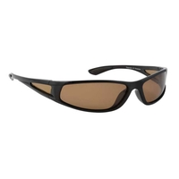 Snowbee Sports 'Wraparound' Polarised Sunglasses with Polarised Side Panels - Black (Frame)