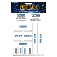 Snowbee Stormsure Tuff Tape - 12x Self-Adhesive Waterproof Patches
