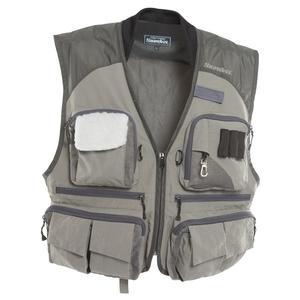 Image of Snowbee Superlight Fly Vest - Sage / Grey