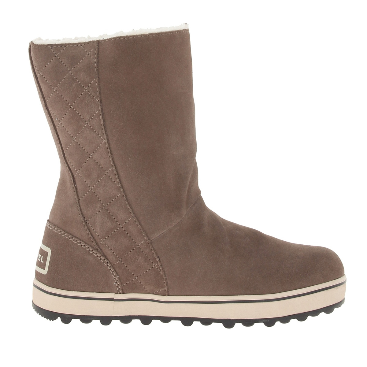 Sorel Glacy Boots (Women's) Saddle Fossil