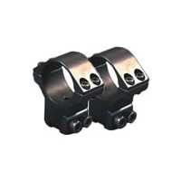 Image of Sportsmatch UK 2 Piece Double Screw High 30mm Mount