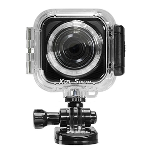 Image of SpyPoint Xcel Stream WiFi Action Camera - Camo