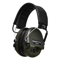 Swatcom Tactical Active8 Military Grade WP Hearing Protectors w/Aux