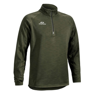 Image of Swedteam Ultra Light Zip Fleece Sweater - Green
