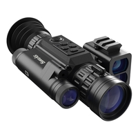 Sytong HT-60 6.5-13x Digital Night Vision Rifle Scope with LRF