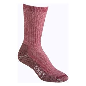 Image of Teko M3RINO XC Medium Hiking Socks (Women's) - Cranberry