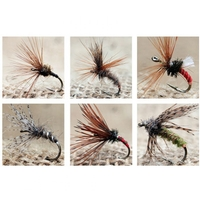 Tenkara Sakasa Kebari Flies - 12 Set