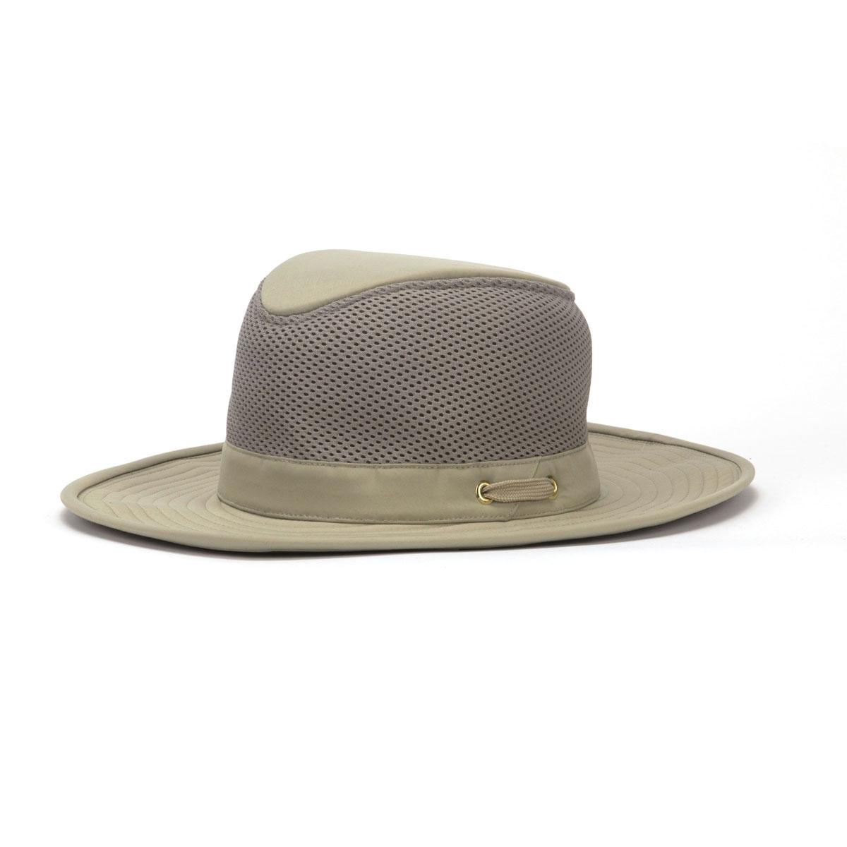 Image of Tilley Broad Curved Brim Lightweight 3 Inch Mesh Hat - Khaki Olive  Underbrim ... 756d5b53a5c