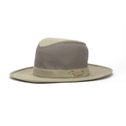 Image of Tilley Broad Curved Brim Lightweight 3 Inch Mesh Hat - Khaki/Olive Underbrim