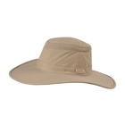 Image of Tilley Broadest Brim Lightweight Airflo Hat - Khaki/Olive Underbrim