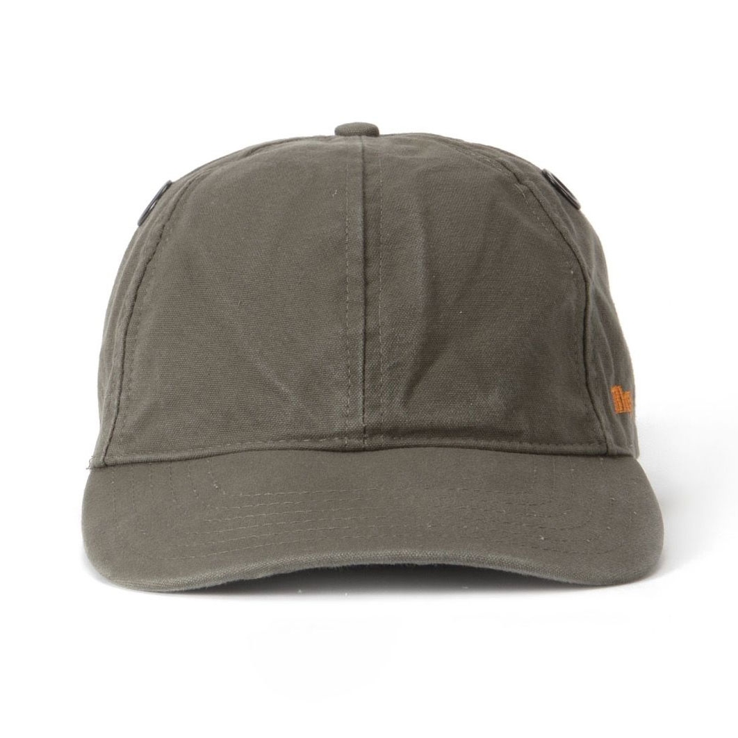 Image of Tilley Cotton Duck Enzyme Washed Ball Cap - Olive ... 62bcbd57611