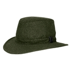 Image of Tilley Medium Curved Brim Tec Wool Winter Hat - Olive