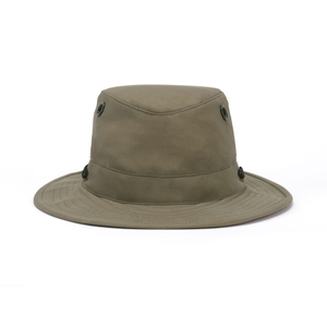 Image of Tilley Outback Lightweight Waxed Cotton Hat - Tan