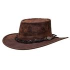 Barmah Squashy Roo - Kangaroo Hide Hat