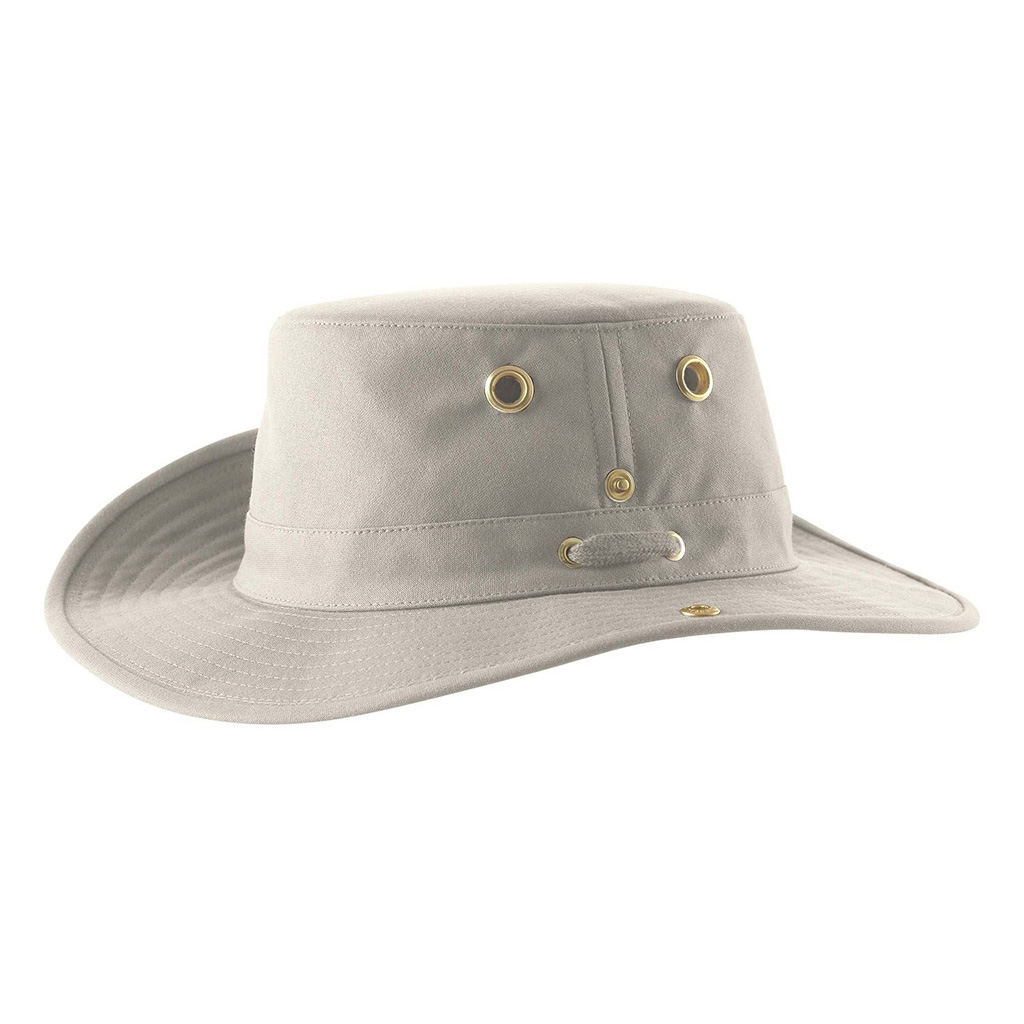 10c52b05 Tilley Medium Brim Snap Up Hat - Khaki | Uttings.co.uk