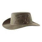 Image of Tilley Medium Brim Snap Up Hat - Olive