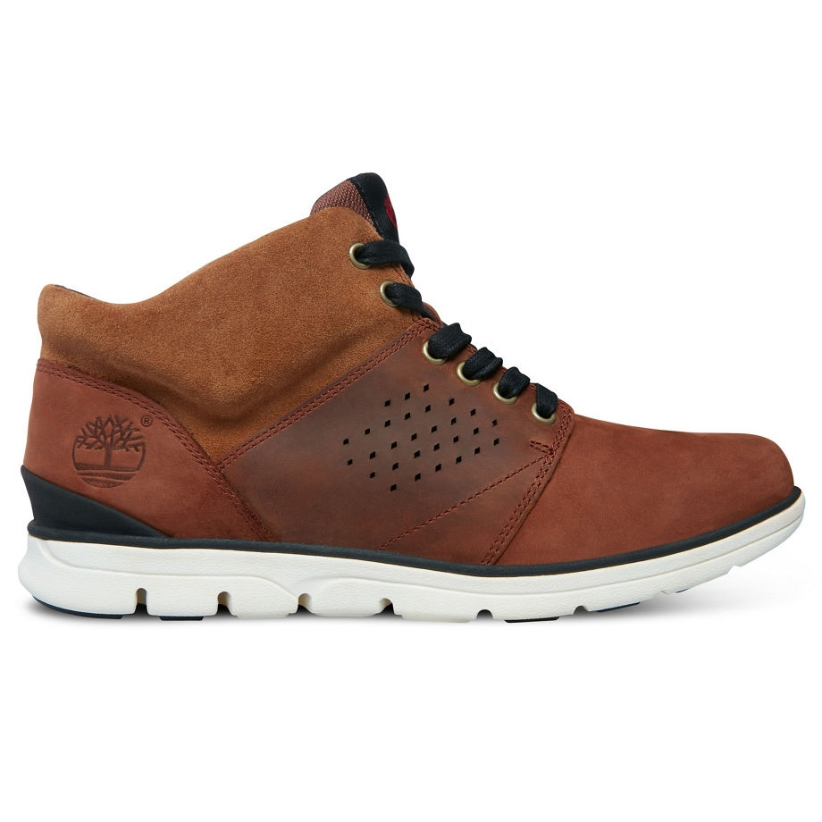 Image of Timberland Bradstreet Half Cab Casual Boots (Men s) - Dark Chocolate  Nubuck cfd93be04fe