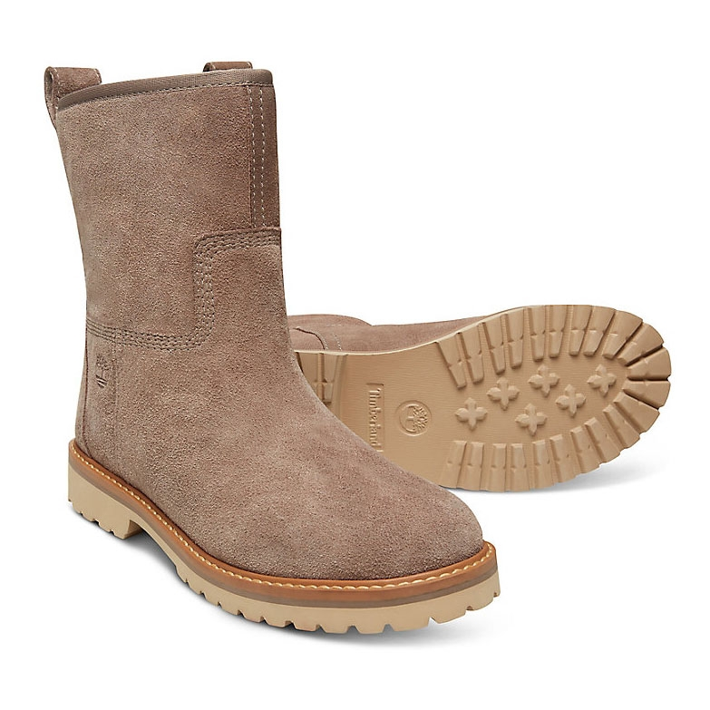 a7933a9a205 Timberland Chamonix Valley WP Winter Boots (Women's) - Taupe (Medium) Grey  Suede