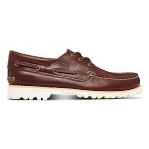 Image of Timberland Chilmark 3 Eye Handsewn Deck Shoes (Men's) - Rootbear Bayou