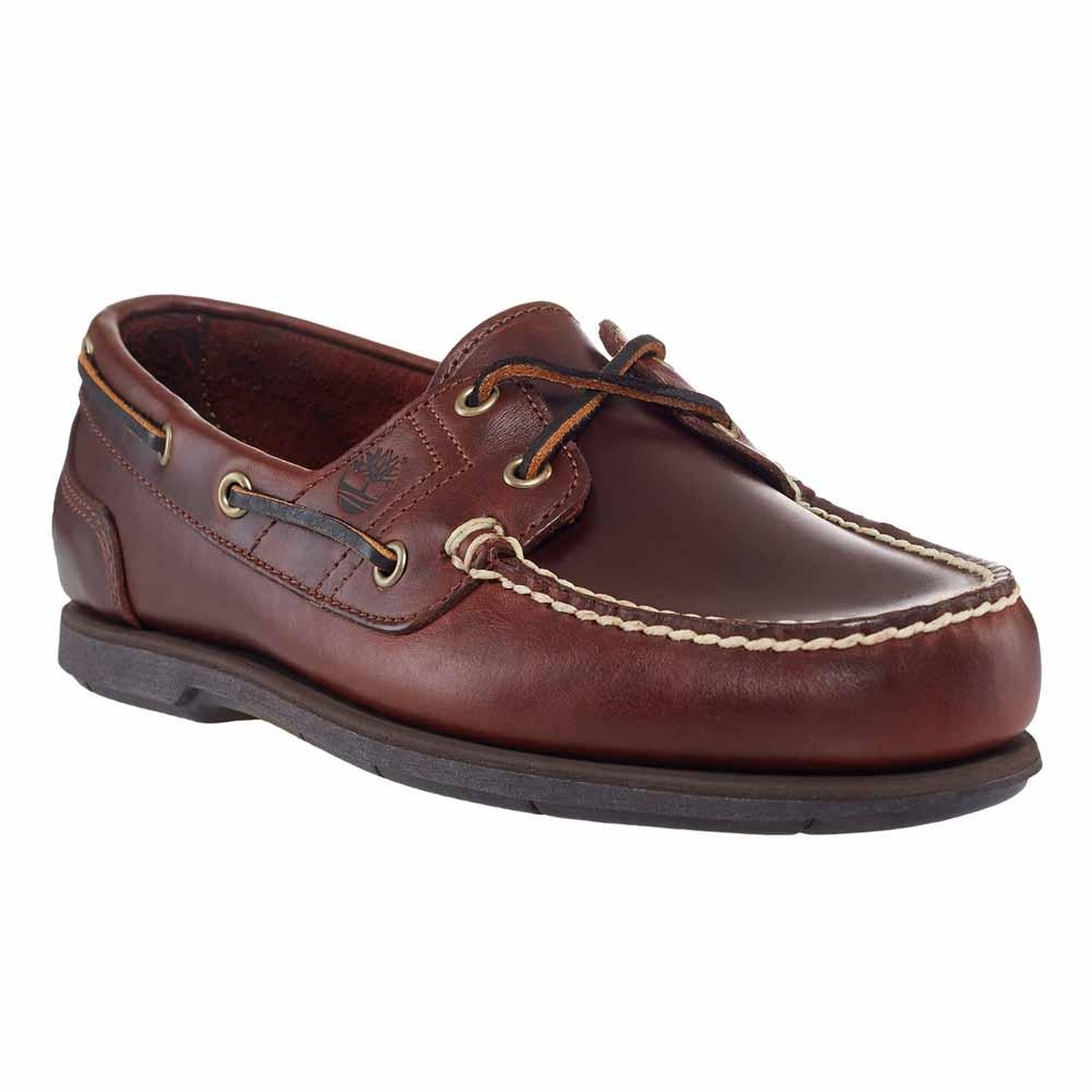 54f3c9c51766 Image of Timberland Classic 2 Eye Boat Shoe (Men s) - Rootbeer Smooth Brown