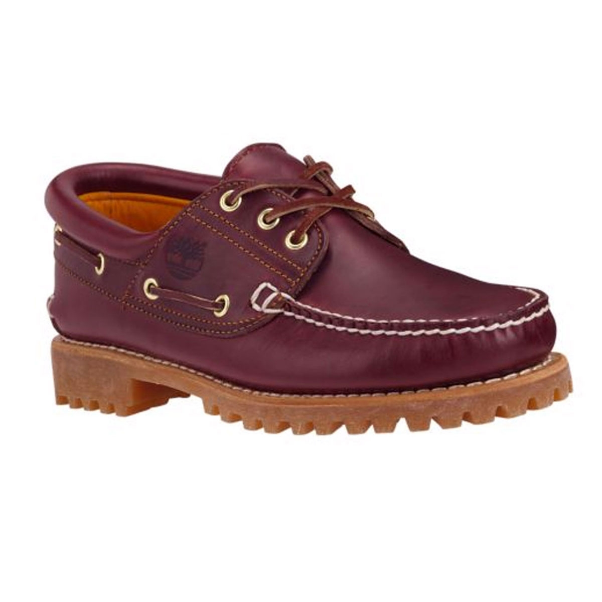 c45dcf3b9fec Image of Timberland Classic Authentic 3 Eye Boat Shoe (Men s) - Burgundy