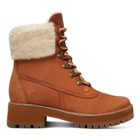 Timberland Courmayeur Valley 6 Inch Boot With Authentic Shearling Lining (Women's)