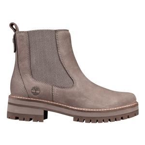 Image of Timberland Courmayeur Valley Chelsea Boots (Women's) - Medium Grey Nubuck