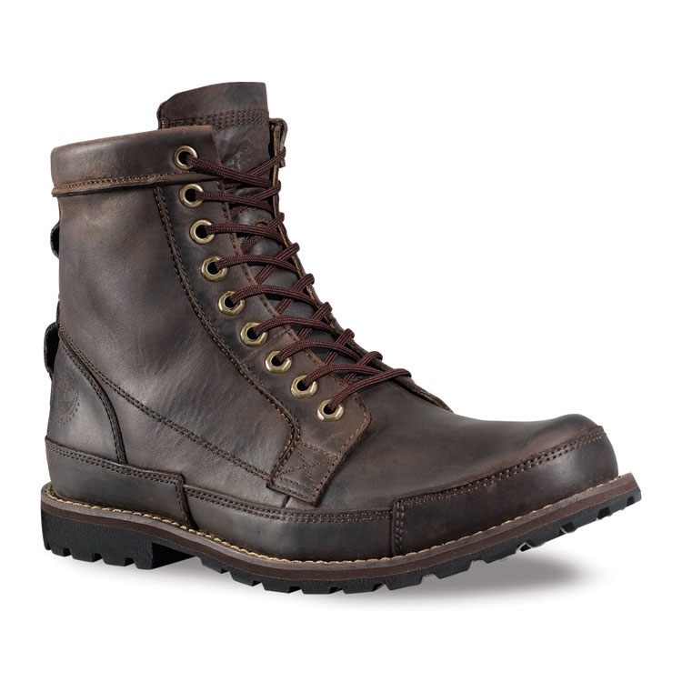 da6ab8ee2bb Image of Timberland Earthkeepers 6 Inch Leather Boot (Men's) - Dark Brown  Burnished Oiled