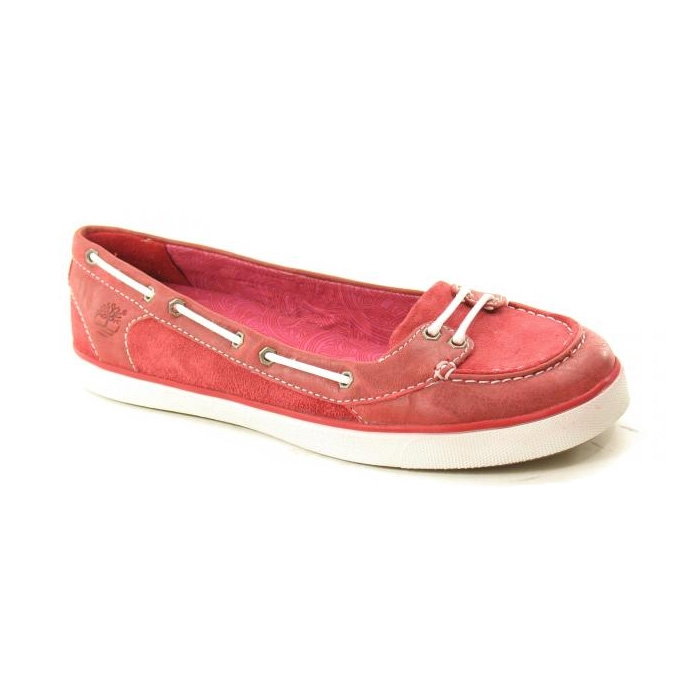 b13cd51aae17 Image of Timberland Earthkeepers Deering Boat Ballerina Shoe (Women s) - Red