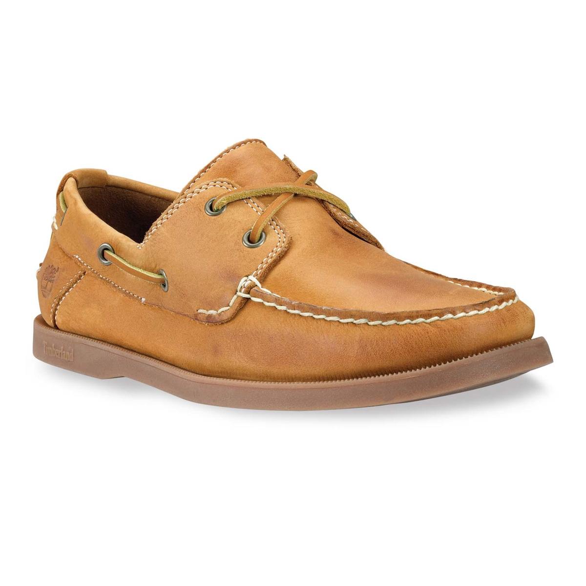 Image of Timberland Earthkeepers Heritage Boat 2-Eye Boat Shoe (Men s) -  Wheat 8f16b9559