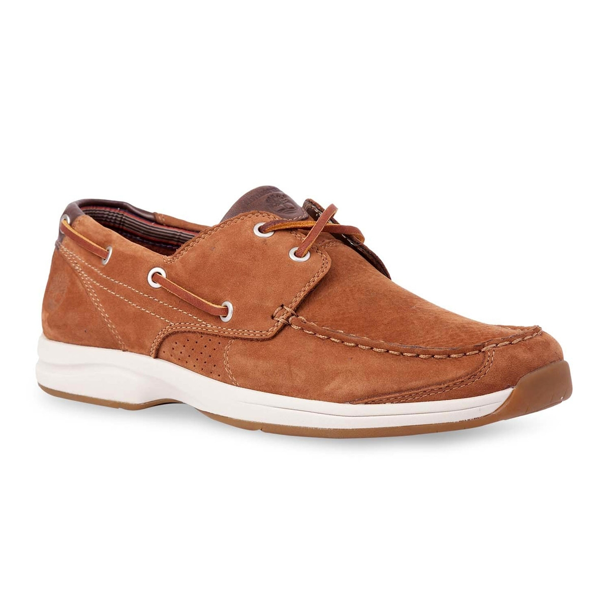 Cincuenta relé Fácil de suceder  Timberland Earthkeepers Hulls Cove 2-Eye Boat Shoe (Men's) - Red Brown  Nubuck | Uttings.co.uk