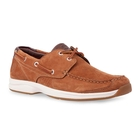 Image of Timberland Earthkeepers Hulls Cove 2-Eye Boat Shoe (Men's) - Red Brown Nubuck