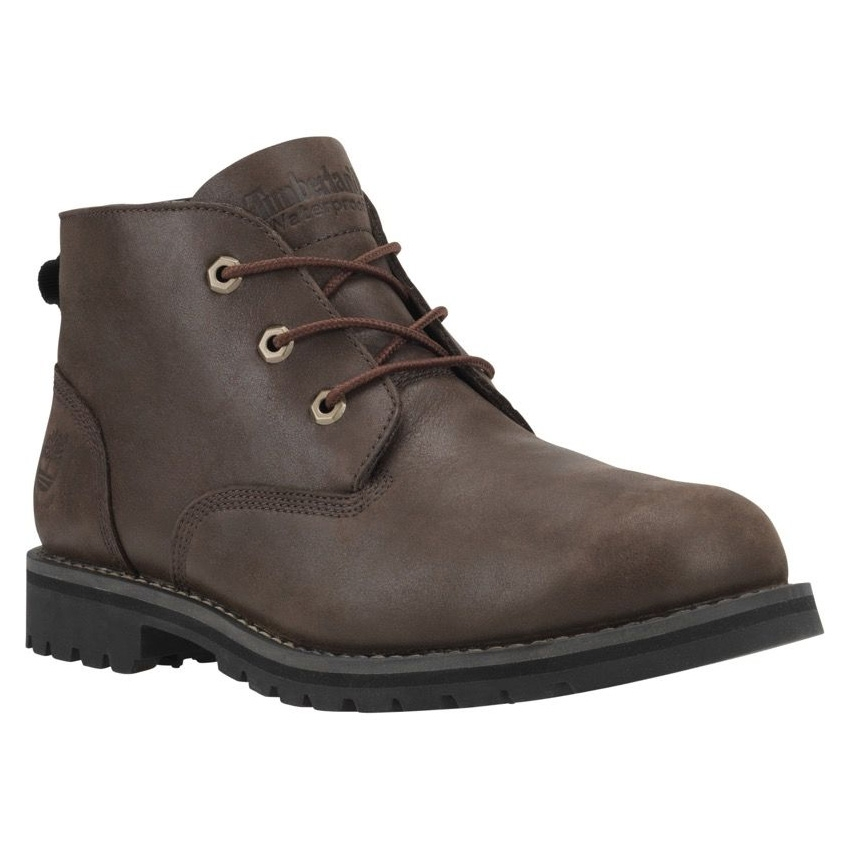 4089f279cec Timberland Earthkeepers Larchmont WP Chukka Boots (Men's) - Dark Brown