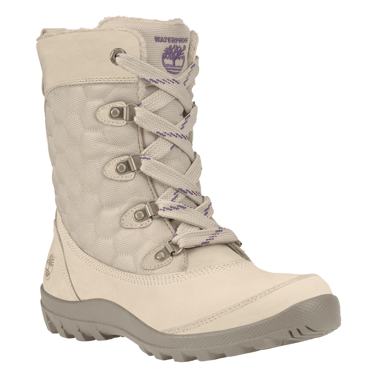 Image of Timberland Earthkeepers Mount Hope Waterproof Boots (Women s) -  Off White 18a9f910f88b
