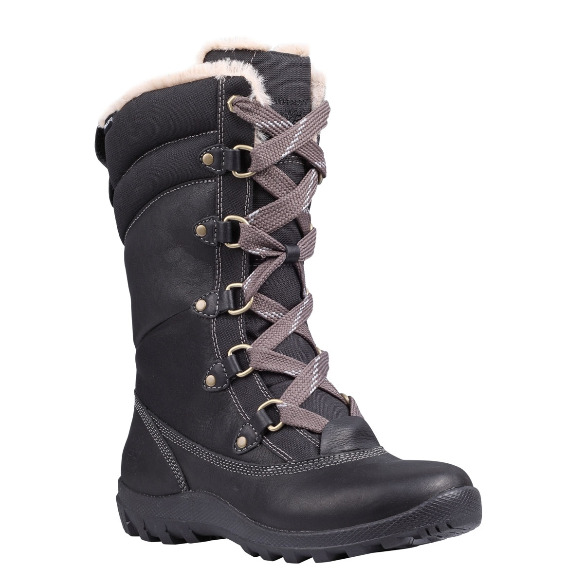 Image of Timberland Earthkeepers Mount Hope Mid Waterproof Boots (Women s)  - Black Forty Leather f3f164a8d9