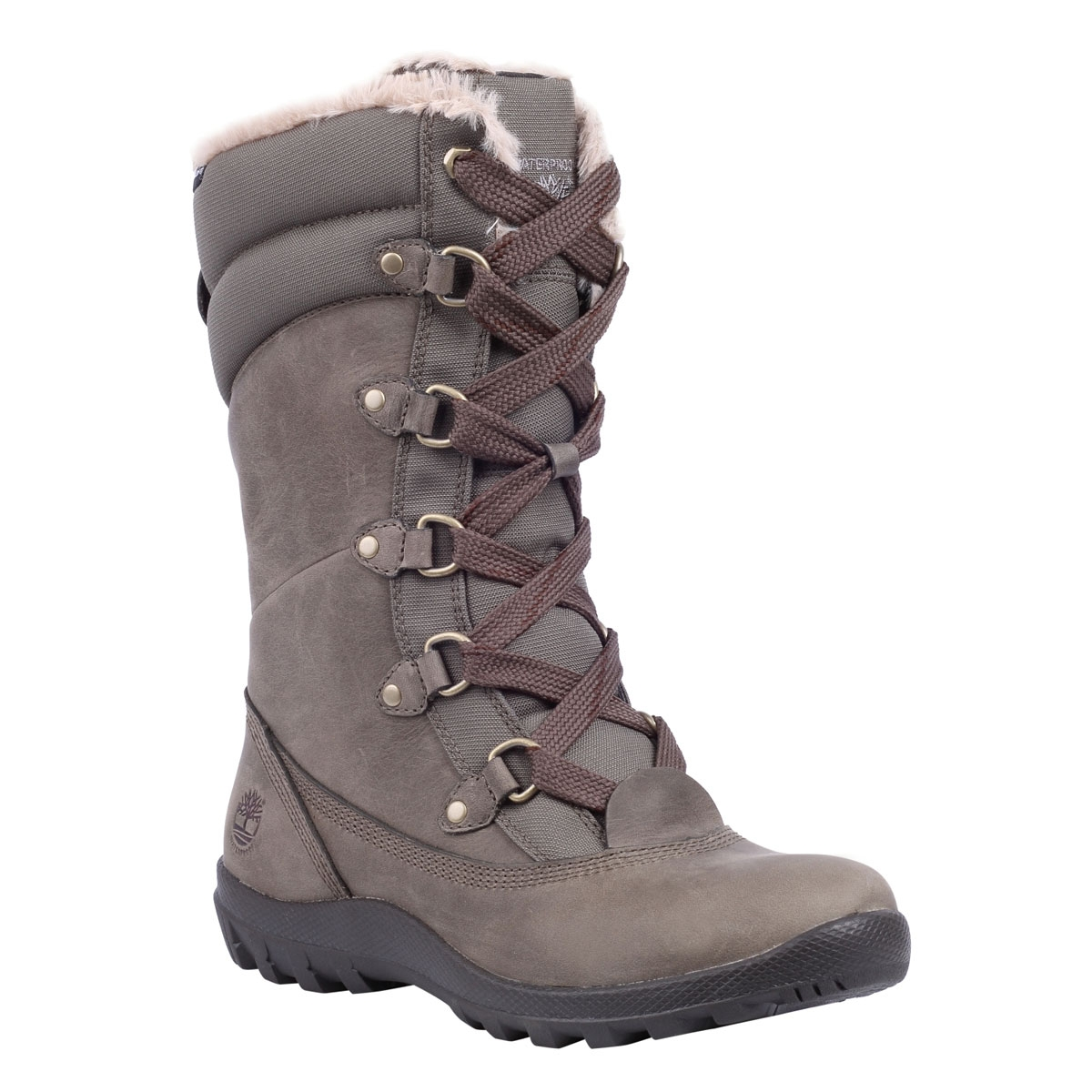 Image of Timberland Earthkeepers Mount Hope Mid Waterproof Boots (Women s)  - Warm Grey fdd96a1f5192