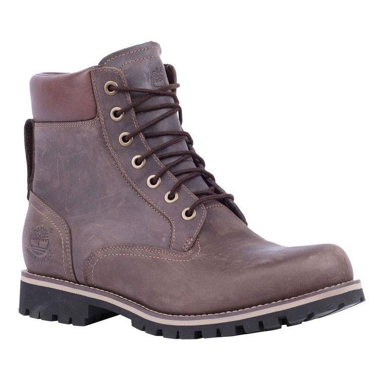 119166baddec Image of Timberland Earthkeepers Rugged 6 Inch Waterproof Walking Boots ( Men s) - Dark Brown