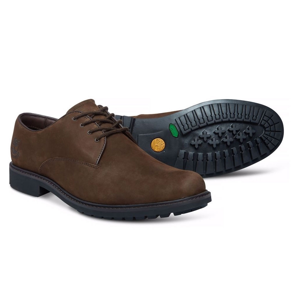 c38a9056f254 Image of Timberland Earthkeepers Stormbuck Oxford Shoes (Men's) - Dark Brown