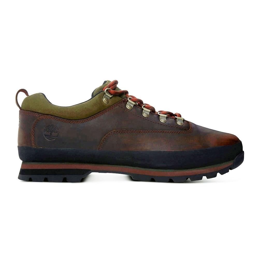 85082901645 Timberland Euro Hiker Low Walking Shoes (Men's) - Gaucho Locohorse Full  Grain