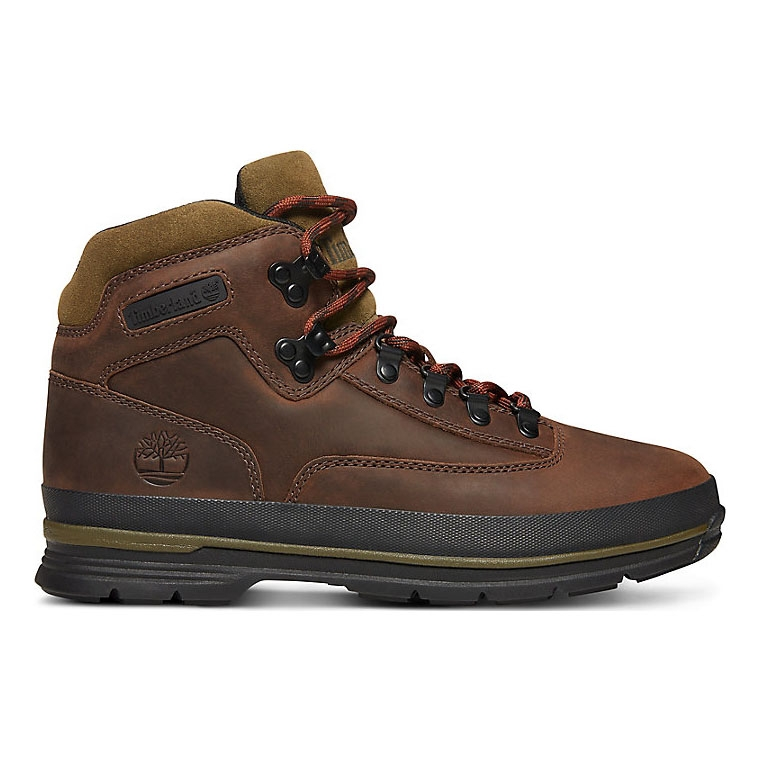 ea446553cc25 Image of Timberland Euro Hiker SF Leather (Men s) - Dark Brown Full Grain  Leather