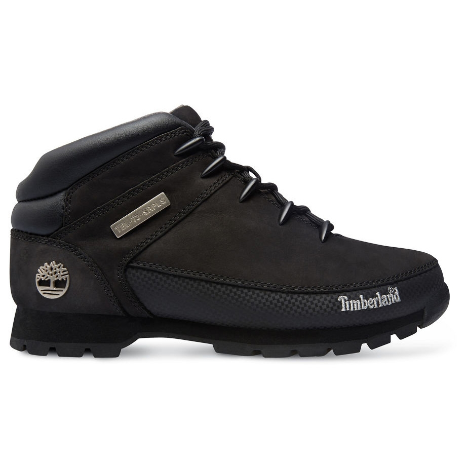 Timberland Euro Sprint Hiker Walking Boots (Men's) Black Nubuck