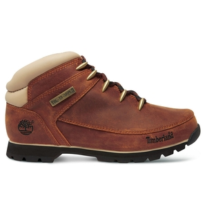 Image of Timberland Euro Sprint Hiker Walking Boots (Men's) - Red Brown
