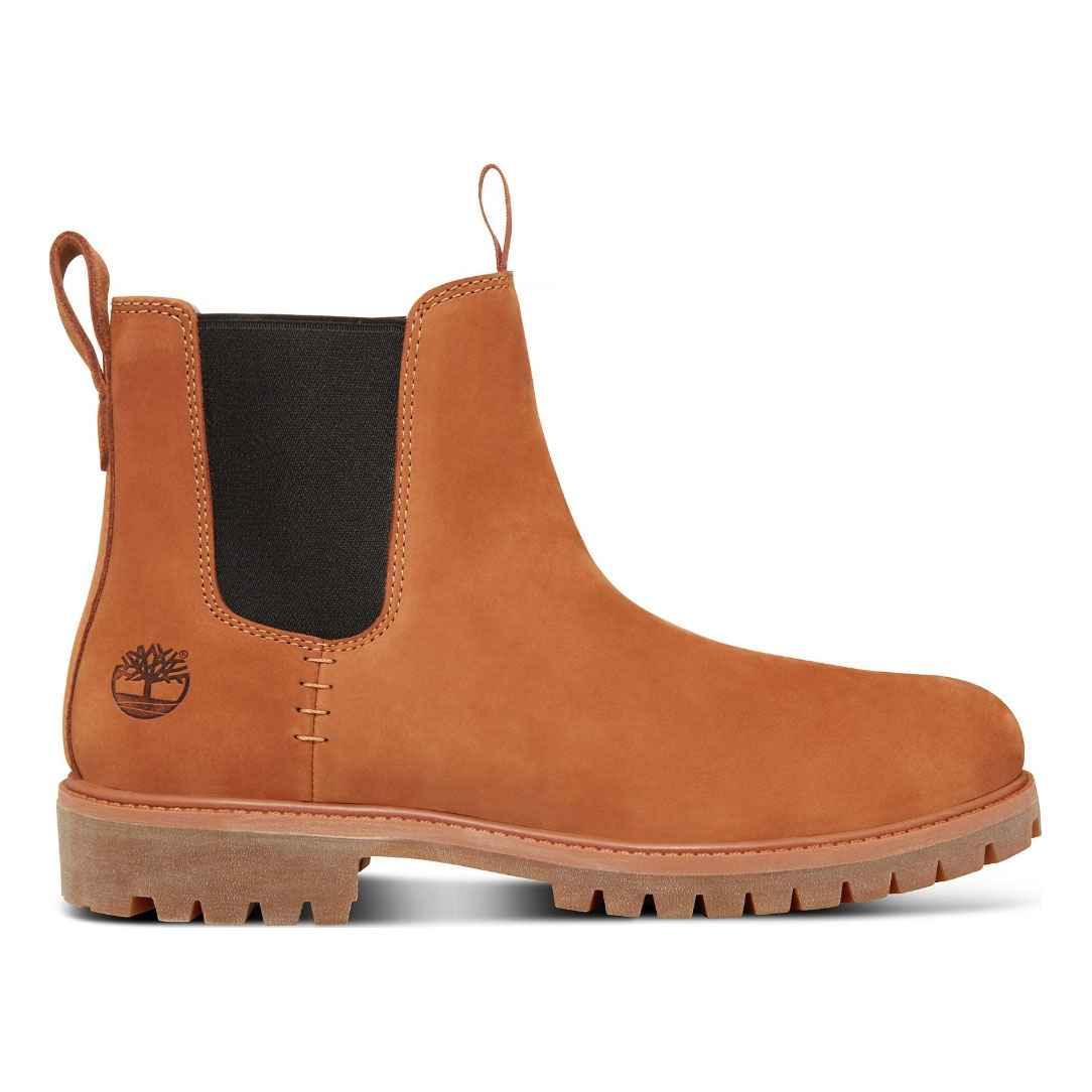 08a7a49bf7a Timberland Icon 6 Inch Premium Chelsea (Men's) - Argan Oil Nubuck