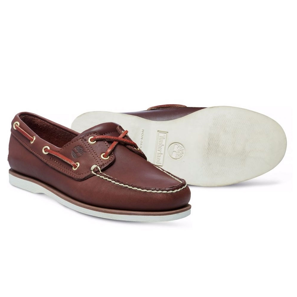 03af9362ab3d Timberland Icon Classic 2 Tone 2 Eye Boat Shoe (Men s) - Dark Brown ...