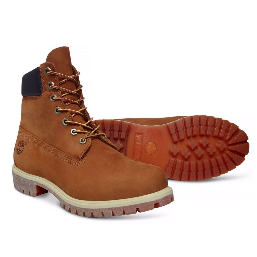Timberland Icon Classic 6 Inch Premium Original Boot (Men's) Rust Nubuck