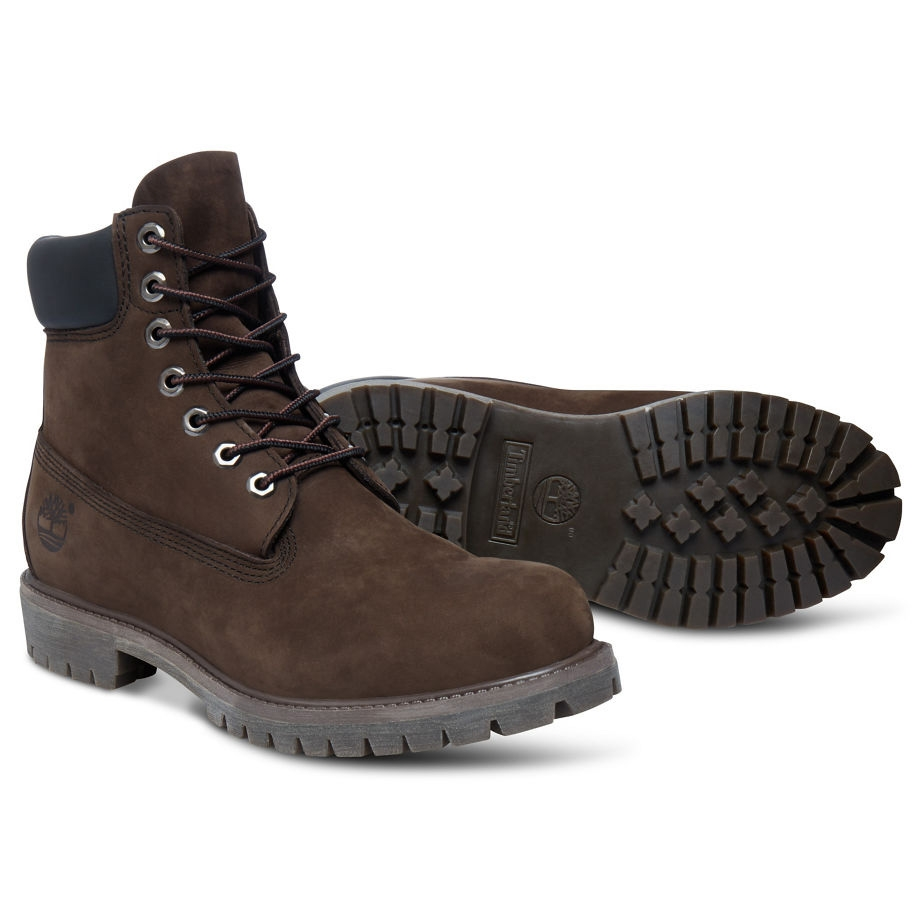 f760238d911 ... Image of Timberland Icon Classic 6 Inch Premium Original Boot (Men s) -  Dark Chocolate
