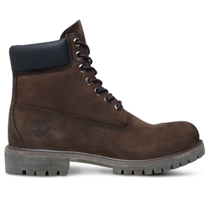 Image of Timberland Icon Classic 6 Inch Premium Original Boot (Men's) - Dark Chocolate Nubuck