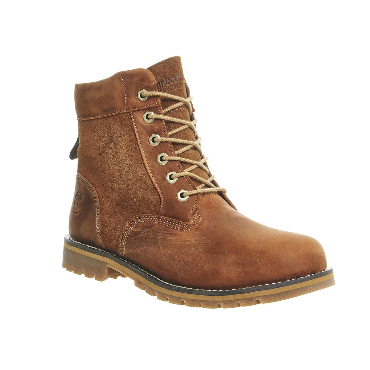 9628866e358 Timberland Larchmont 6 Inch WP Boots (Men's) - Glazed Ginger (Medium Brown)  Full Grain