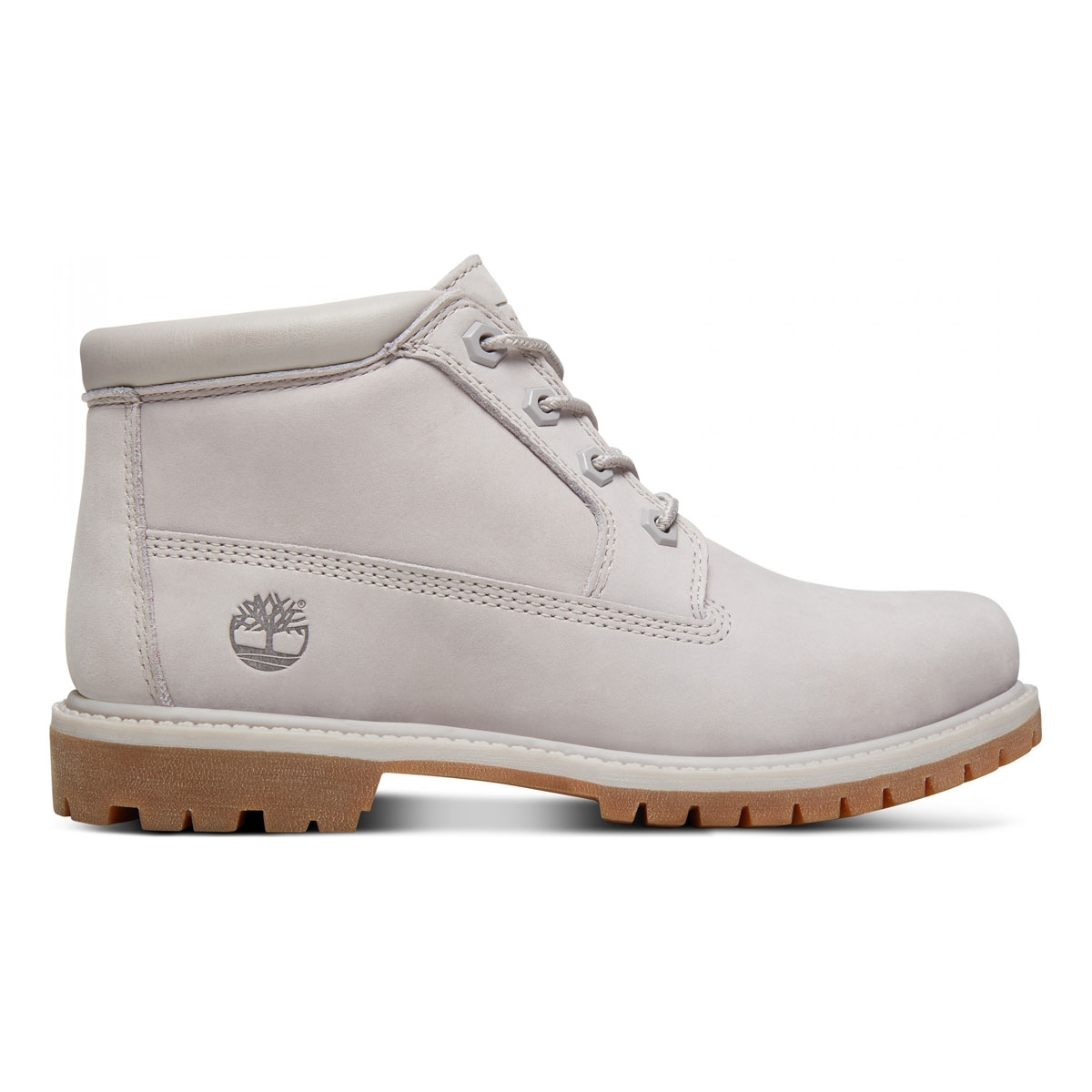 Image of Timberland Nellie Chukka Double WP Boots (Women s) - Light Grey  Nubuck 236e8d103