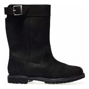 Image of Timberland Nellie Pull-On Waterproof Boots (Women's) - Black Nubuck